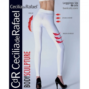 NO. 26120 Cecilia de Rafael - Leggings up 90d - 프리미엄 노라인 무광택 불투명 스마트한 압박레깅스 90데니아 - 빅사이즈로 다른 제품들보다 사이즈가 전체적으로 큼.