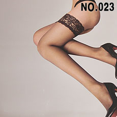 NO.023 최고급 럭셔리 DAY&NIGHT STAY-UP 실리콘 밴드스타킹 20데니아